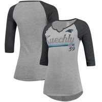 Product Image Luke Kuechly Carolina Panthers Women s Juniors Over the Line Player  Name   Number Tri-Blend 86cbb1890