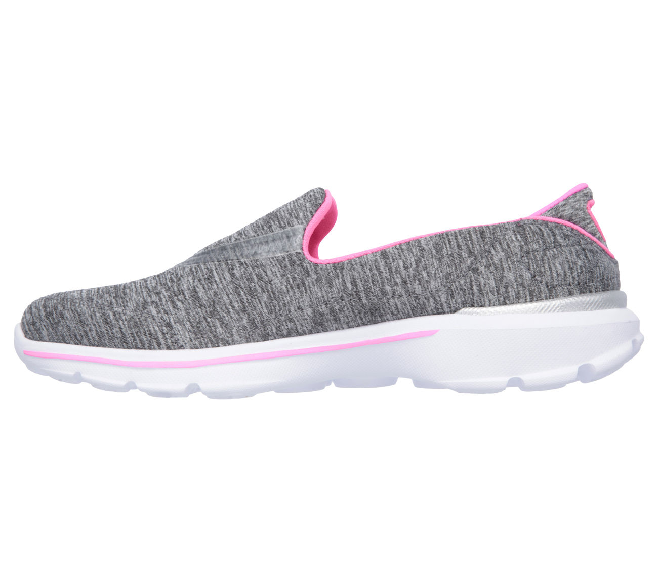 huge selection of ac8fb 18a0a Skechers 81076LGRY Girl's GOWALK 3 - REBOOT Shoes