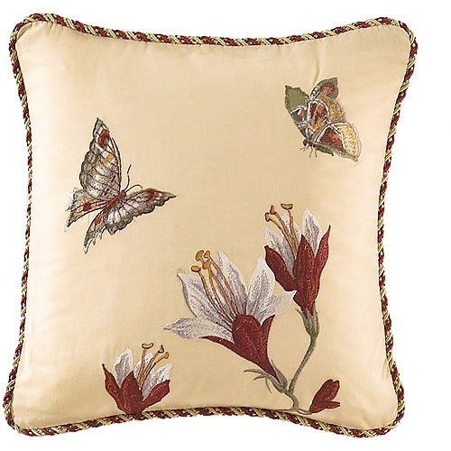 Waverly Laurel Springs Embroidered Accent Pillow