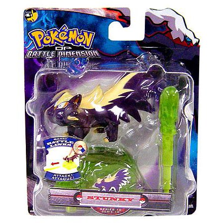 Pokemon Battle Dimension Series 10 Stunky Action Figure