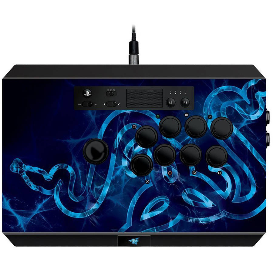 Razer Panthera Arcade Stick - Fully Mod-Capable Fight Stick - Internal Storage Compartments -PS4