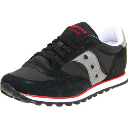quality design d3539 6ce13 Saucony Jazz Low Pro Black/Grey/Red Men's Running Shoes 2866-7