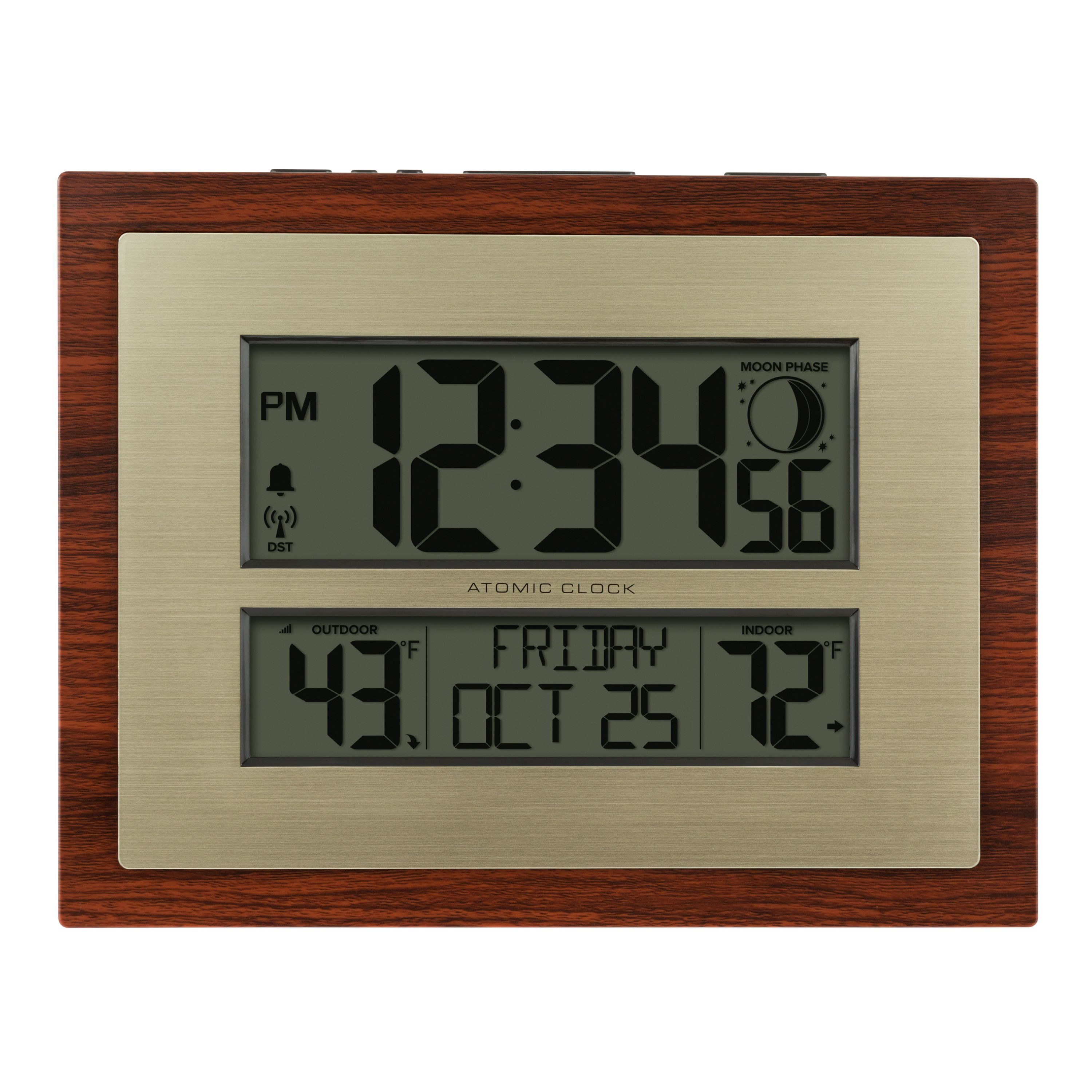 Better Homes & Gardens Atomic Digital Clock