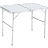 UBesGoo Portable Small Size Folding Aluminum Height Adjustable Table Indoor Outdoor Picnic Party Dining Camping Table