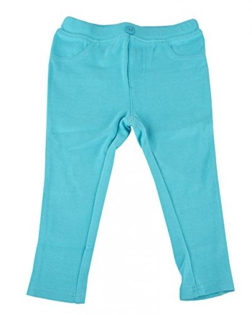 Primary Solid Stretch Knit Jegging - POOL - 12m