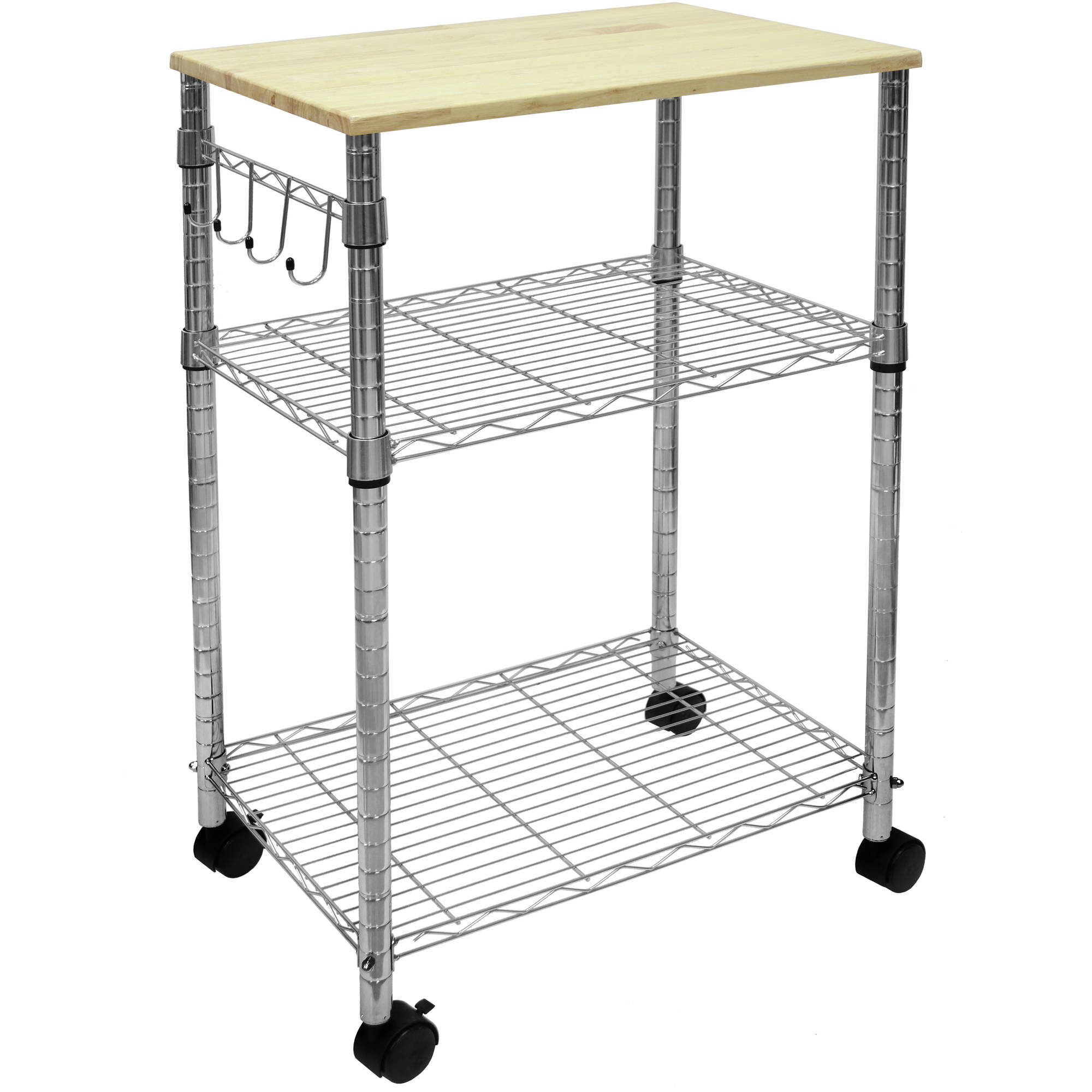 Mainstays Kitchen Cart Ms Walmart Com