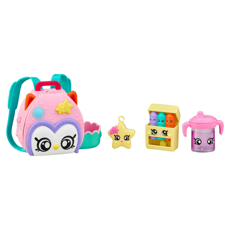 Kindi Kids Fun Backpack Lunchbox Set Lot of 2 Shopkins Toy Doll Accessory New