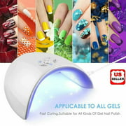 36W LED UV Nail Polish Dryer Lamp Gel Acrylic Curing Light Spa Professional Kit - Best Reviews Guide