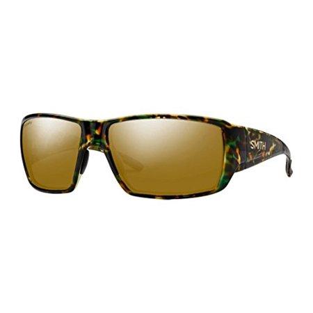 7911ed8f195 Smith Optics - Mens Guides Choice Lifestyle Polarized Sunglasses Flecked  Green Tortoise   ChromaPop Bronze Mirror - Walmart.com