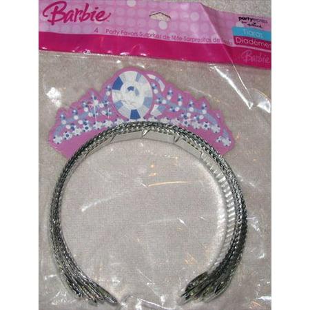 Barbie 'Perennial Princess' Tiaras / Favors - Princess Tiara Favors