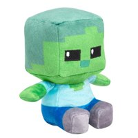 "Minecraft Mini Crafter Zombie 5"" Plush Toy"