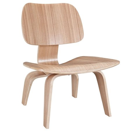 Plywood Lounge Wood Chair in Natural # EEI-510-NAT - image 1 de 4
