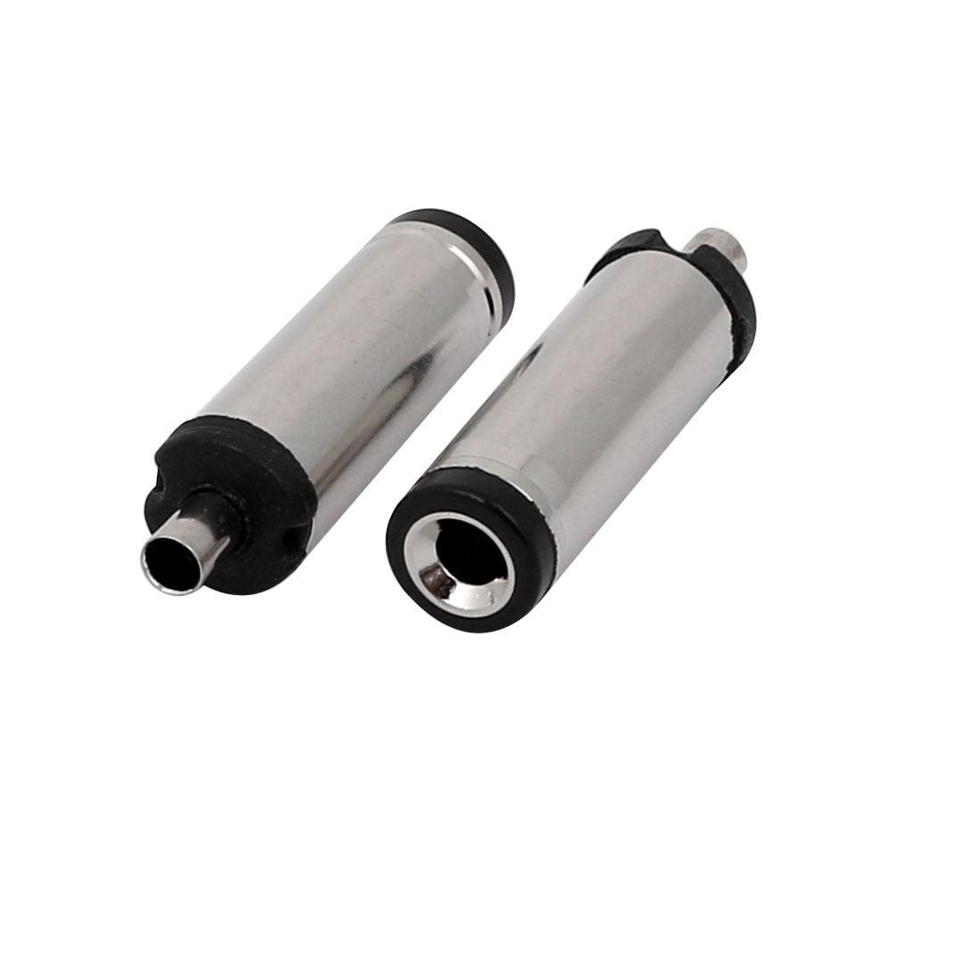 5 Pcs 5521CV205 5.5mm x 2.1mm DC Power Adapter Jack Male Bucket Connector - image 1 de 2