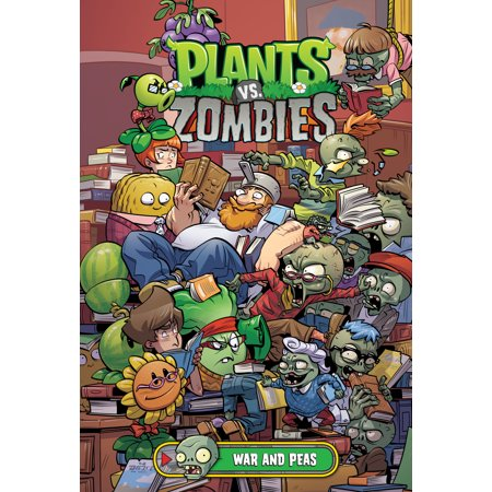 Plants vs. Zombies Volume 11: War and Peas covid 19 (Plants Zombies Pattern coronavirus)