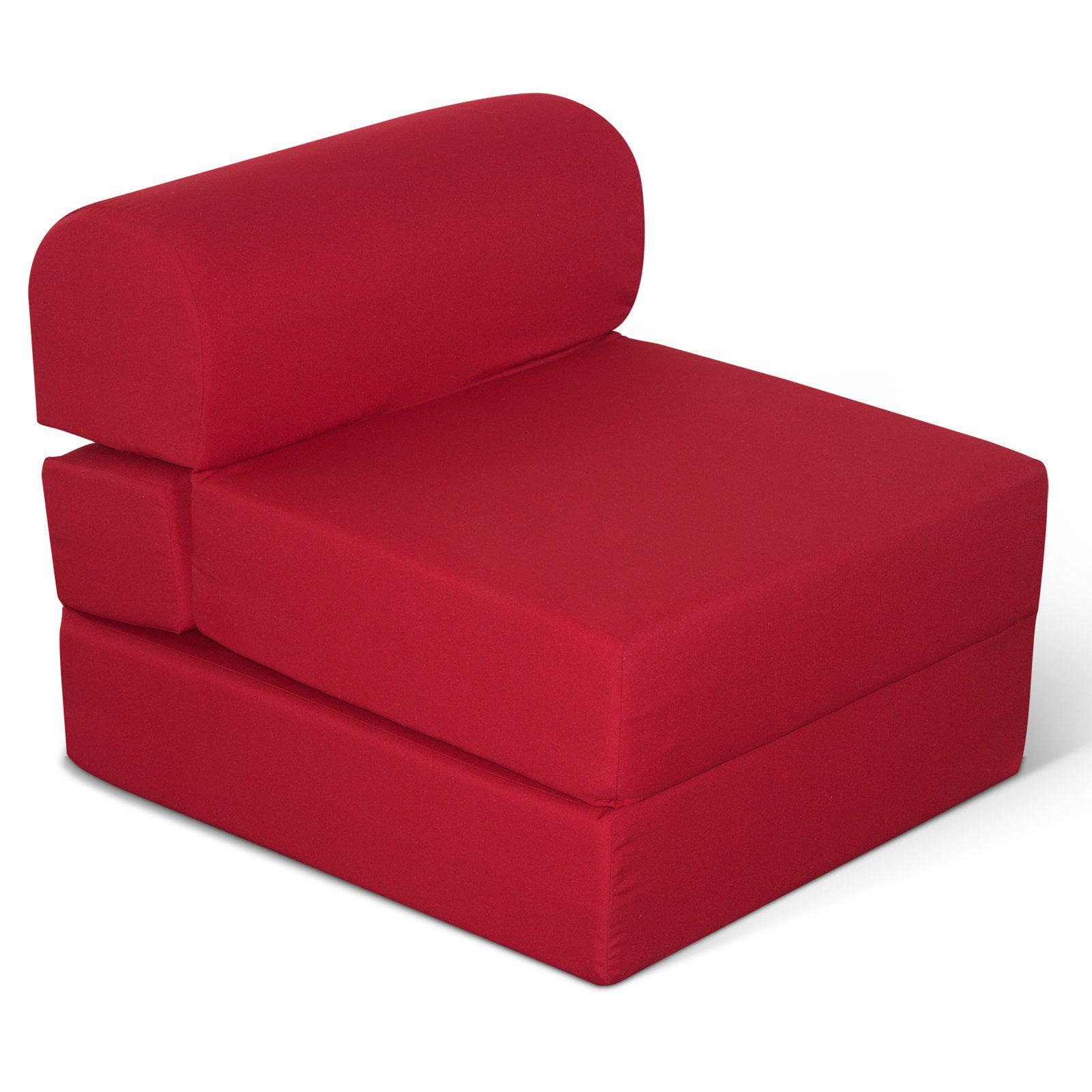 American Furniture Alliance Juvenile Poly Cotton Jr Twin Studio Futon Chair 24 In Com