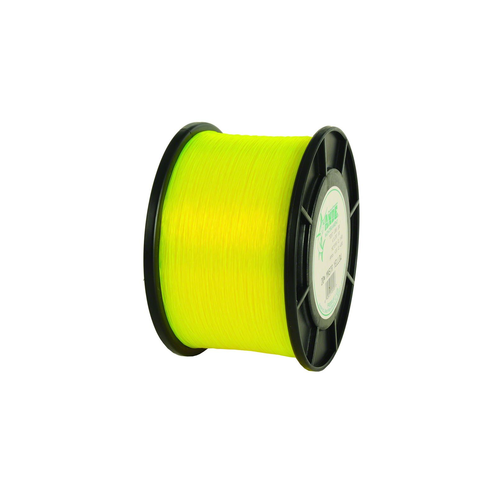 Ande Monofilament Monster Yellow 1Lb Spool 50Lb Test, MY0...