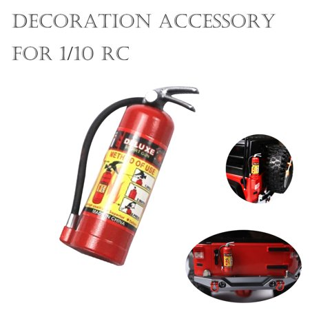 Outtop 1/10 RC Crawler Accessory Parts Fire Extinguisher Model For Axial SCX10 TRX4