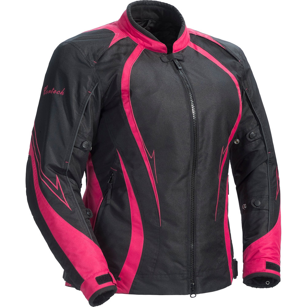 Cortech LRX Series 3 Womens Jacket Black/Pink