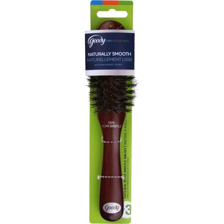 Goody Boar Brush, Naturally Smooth Style, 100% Boar Bristles, 1 Ct