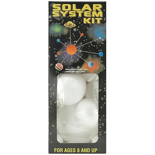 Styrofoam Solar System Kit, White