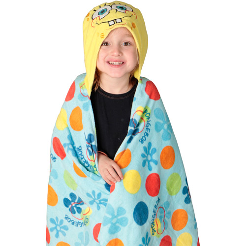 Nickelodeon SpongeBob SquarePants Toddler Hooded Towel