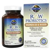 Garden of Life - RAW Probiotics Women 50 & Wiser 85 Billion CFU - 90 Vegetarian Capsules