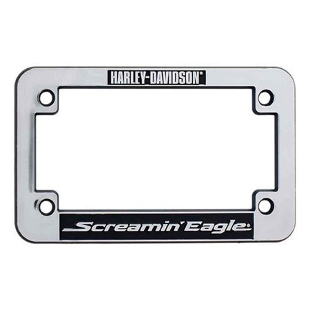 Harley-Davidson Screamin\' Eagle Motorcycle License Plate Frame ...