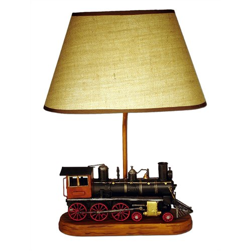 Judith Edwards Designs Train Engine 22'' H Table Lamp