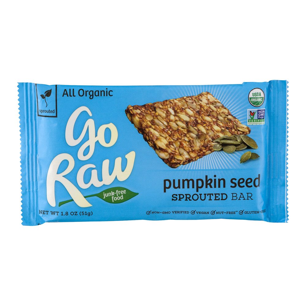 Go Raw Pumpkin Seed Sprouted Bar, 1.8 OZ