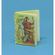 Dollhouse Merry Christmas Abc'S Readable Book Antique Repr
