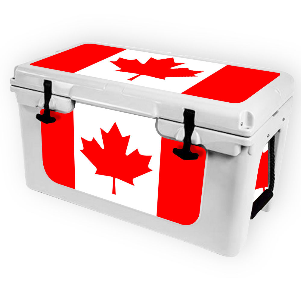 Skin for RTIC 45 Cooler (2017 Model) Canadian Flag| MightySkins Protective,...
