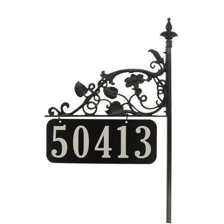 Magnolia All Metal Premium Reflective Address Sign 58