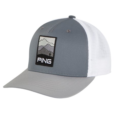 142dbea49b2 Ping - New 2018 Ping Golf Men s Mountain Patch Adjustable Hat Cap COLOR   Silver - Walmart.com