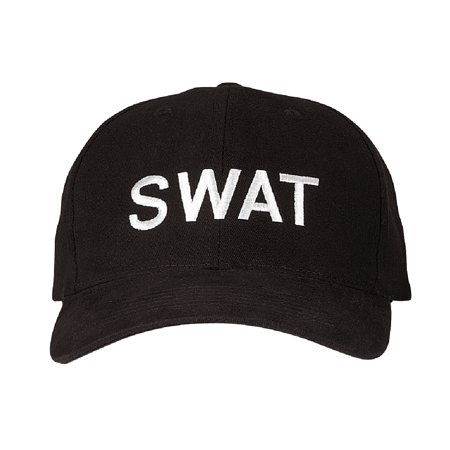 0e7d083b7db SWAT Emboridered Baseball Cap