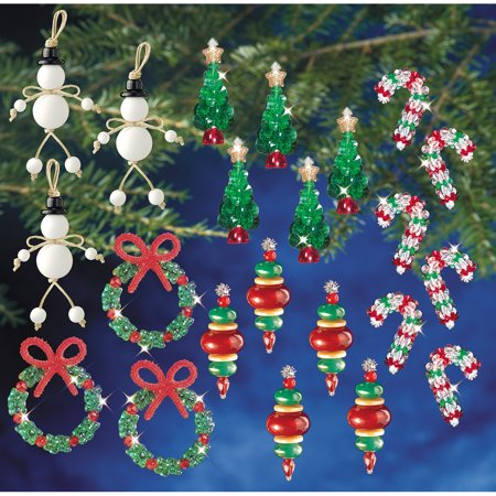 Holiday Beaded Ornament Kit Collection New Traditional Makes 100