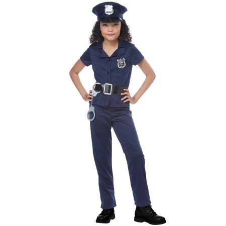 Cute Cop Child Costume - Cops N Robbers Costumes