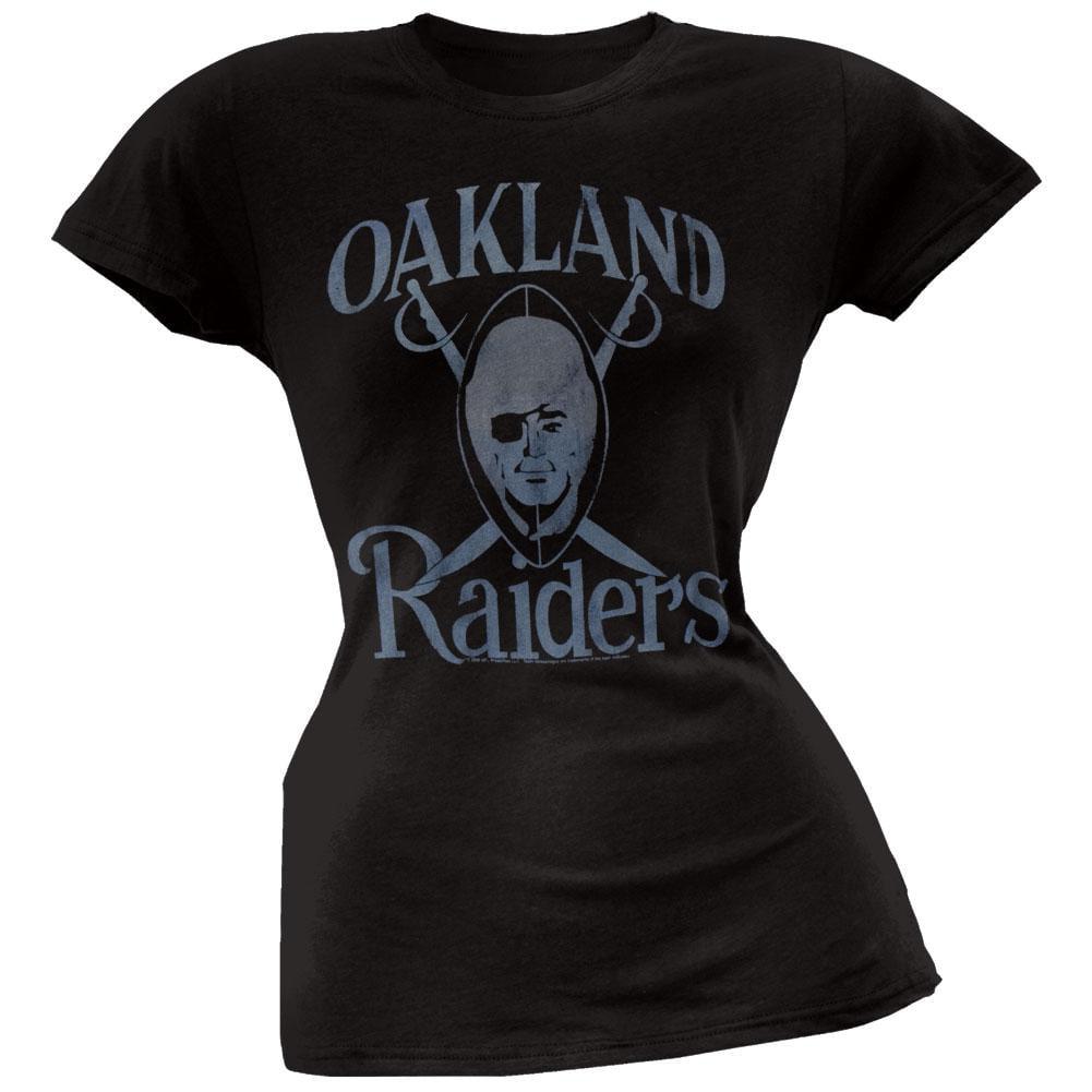 Oakland Raiders - Large Logo Juniors T-Shirt - X-Large