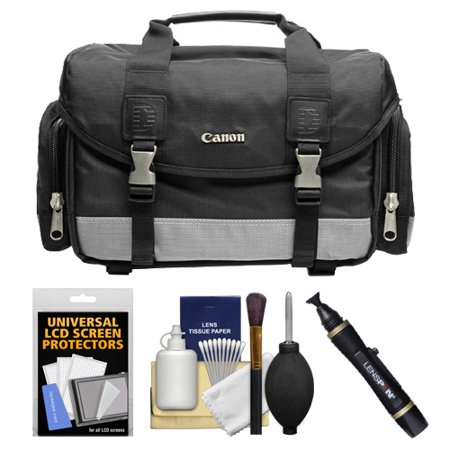 Take Offer Canon 100DG Digital SLR Camera Case Gadget Bag + Accessory Kit for EOS 6D, 70D, 7D, 5DS, 5D Mark II III, Rebel T3, T3i, T5, T5i, T6i, T6s, SL1 Before Special Offer Ends