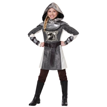 Girl's Medieval Knight (Children's Medieval Costumes)