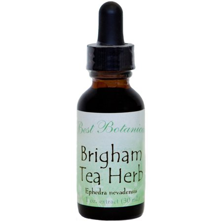 Best Botanicals Brigham Tea Herb Extract 1 oz. (Best Tea In Paris)