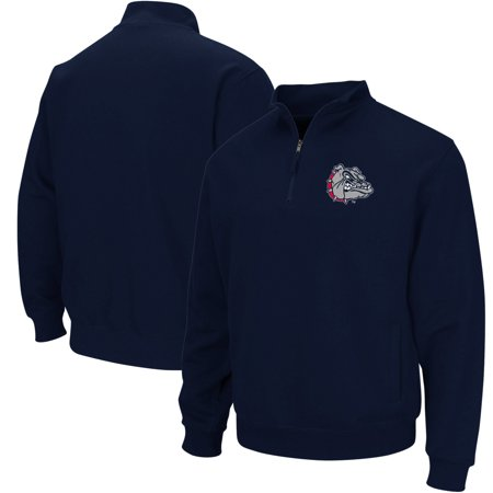 Gonzaga Bulldogs Colosseum Team Logo Quarter-Zip Pullover Jacket - Navy Gonzaga Bulldogs Jacket