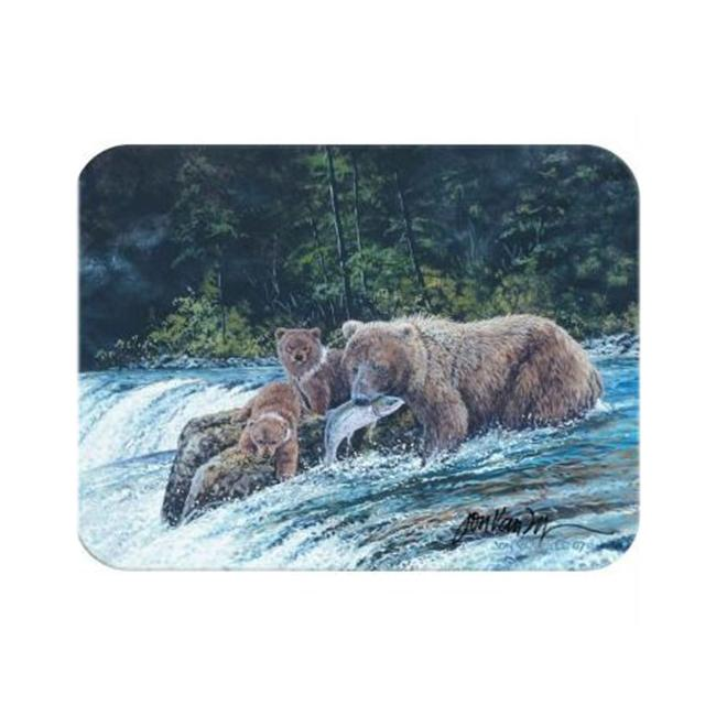McGowan TT70011 Tuftop Vanzyle-Grizzly Fishing Cutting Board- Small