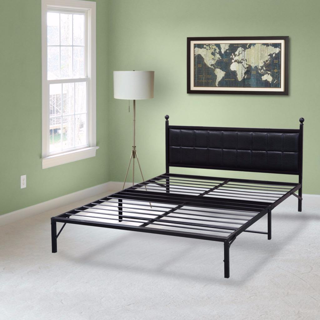 Best Price Mattress Model L-Plus Easy Set-up Bed Frame, Multiple Sizes