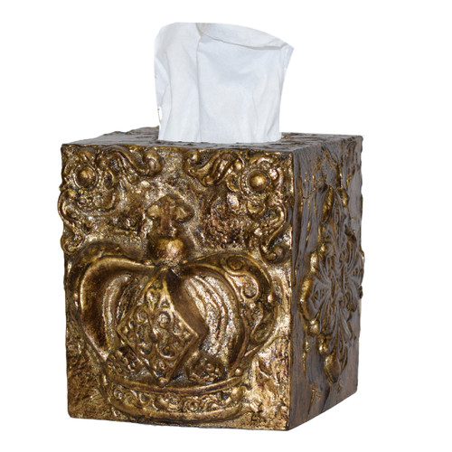 Hickory Manor House Royal Crown Tissue Box Cover