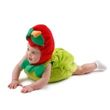 Dress Up America 867-12-24 Sugar Sweet Apple Costume pour les b-b-s de 12 - 24 mois - image 2 de 3