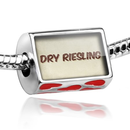Dry Riesling Wine (Bead Dry Riesling Wine, Vintage style Charm Fits All European)