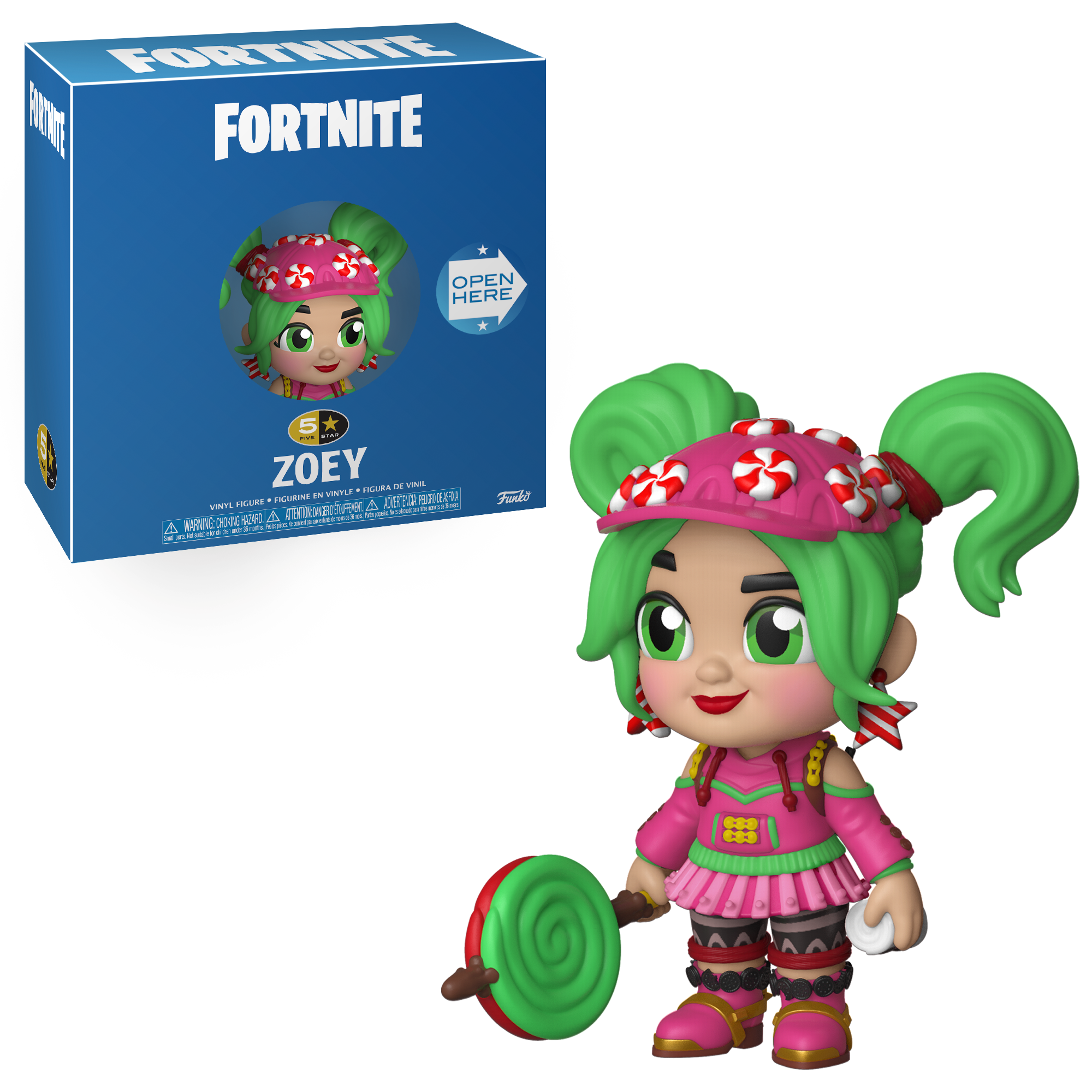 Funko 5 Star: Fortnite S1a - Zoey