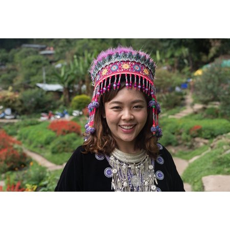 Canvas Print People Chiang Mai Happy Person Woman Girl Costume Stretched Canvas 10 x 14](Famous People Costumes)