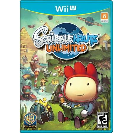 Scribblenauts Unlimited - Nintendo Wii U Brand (Scribblenauts Unlimited Best Creations)