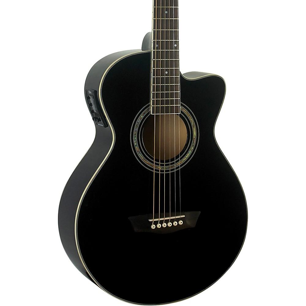 Washburn EA10B Festival Jumbo Acoustic-Electric Guitar